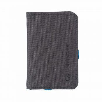 LIFEVENTURE - 防盜錢包 RFID Card Wallet Grey