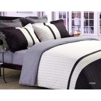 Casablanca - [4尺雙人] 活性印花純棉系列床笠及枕袋 (CS580FDS48)