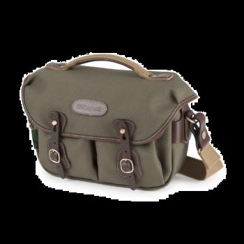 Billingham - Hadley Small Pro 小型專業相機包 - 綠纖維布 /巧克力皮革