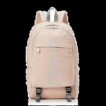 Anello - Anello 巨型標誌印花雙扣背包-AH-B2481-LPI 米粉色