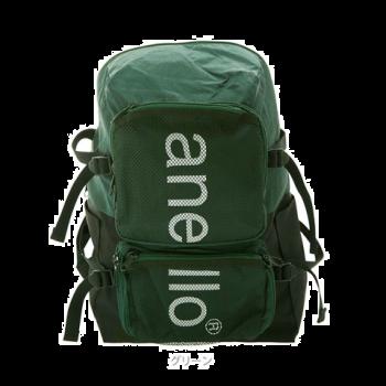 Anello - HDT MESH 大容量多間隔背包 AH-N1011-GR 綠色