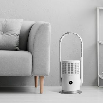 Momax - UItra-Air IoT 智能紫外光空氣淨化無葉風扇