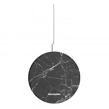 thecoopidea - Moon 10W 快速無線充電板 - 雲石黑