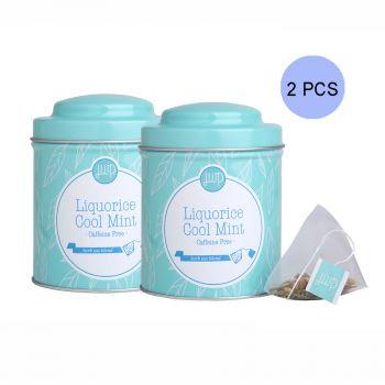 JWP - 冷香甘檸草本茶套裝2罐 (每罐內含10個茶包)