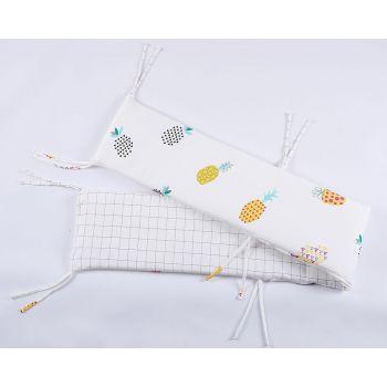 Lenny World - 嬰兒針織床圍 (菠蘿格調)