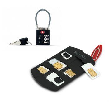 SmartGo - SIM卡存放套 + TSA認證雙險鎖