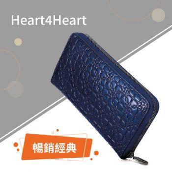 Folli Follie - Heart4Heart 深藍色漆皮錢包