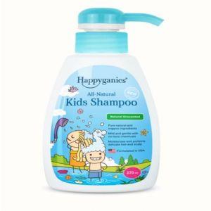 Happyganics - 全天然兒童洗髮露 270ml (天然無味)